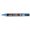 Posca PC-5M Marker 1.5-1.8mm Bullet Tip-Light Blue - Spectrum Art Shop Birmingham
