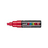 Posca PC-8K Marker 8.0mm Chisel Tip-Red - Spectrum Art Shop Birmingham