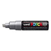 Posca PC-8K Marker 8.0mm Chisel Tip-Silver - Spectrum Art Shop Birmingham
