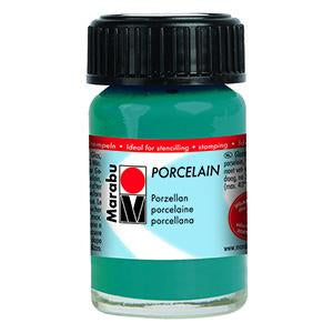 Porcelain Ceramic Paint 15ml, Petrol - Spectrum Art Shop Birmingham