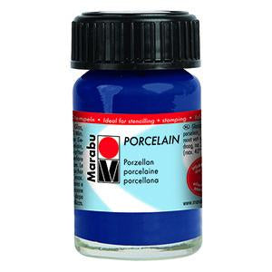 Porcelain Ceramic Paint 15ml, Night Blue - Spectrum Art Shop Birmingham