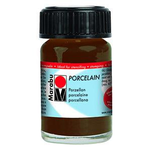 Porcelain Ceramic Paint 15ml, Cocoa - Spectrum Art Shop Birmingham