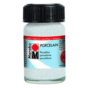 Porcelain Ceramic Paint Effekte 15ml, Glitter White - Spectrum Art Shop Birmingham