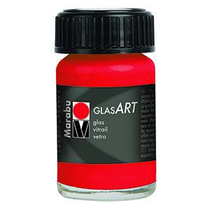 Glasart 15ml, Vermilion - Spectrum Art Shop Birmingham