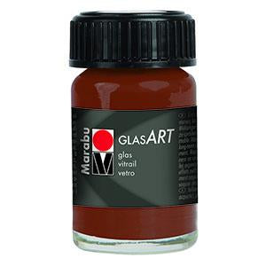 Glasart 15ml, Brown - Spectrum Art Shop Birmingham