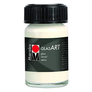 Glasart 15ml, White - Spectrum Art Shop Birmingham