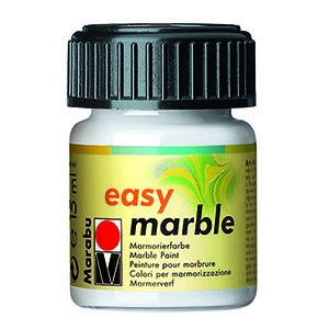 Easy Marble 15ml, White - Spectrum Art Shop Birmingham