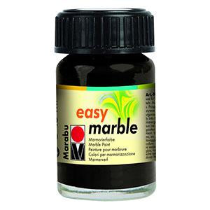 Easy Marble 15ml, Black - Spectrum Art Shop Birmingham