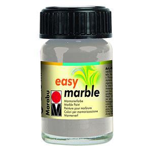 Easy Marble 15ml, Silver - Spectrum Art Shop Birmingham