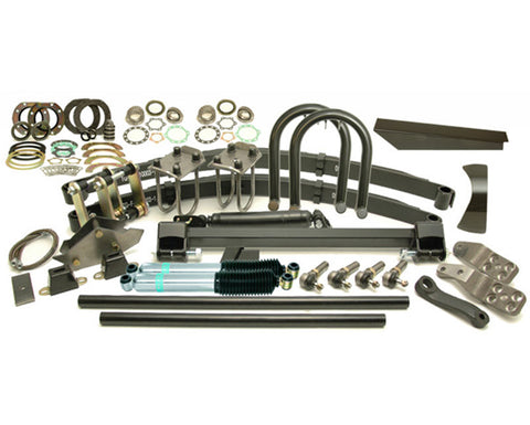 "Kit Classic Front Lift 4"" Springs 12"" Shocks Lhd 6-Stud Arms Drop Pitman 5.0"" Shackle"