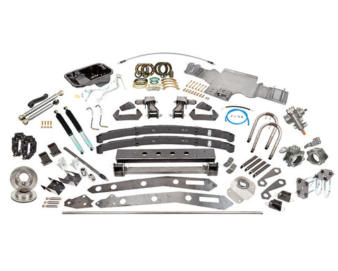 "Tacoma SAS Kit B, 1995.5, 5"" Leaf Springs, 14"" Shocks, 3.4L"