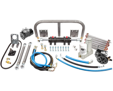 "Toyota Full Hydraulic Steering Kit, 8"" RAM"