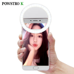 LED Selfie Ring Light - Fits All Smart Phones