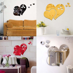 3D WALL HEART DECOR (5-Piece Set)