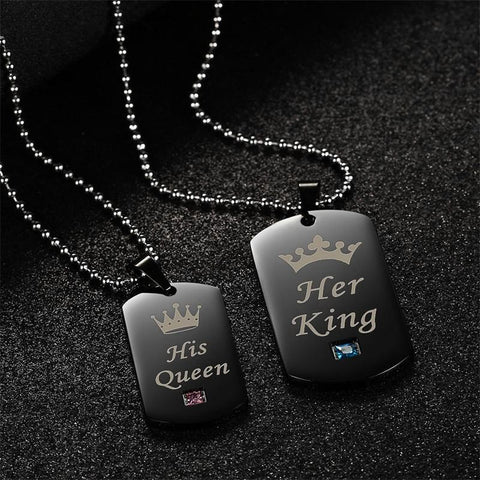 """King & Queen"" Necklaces"