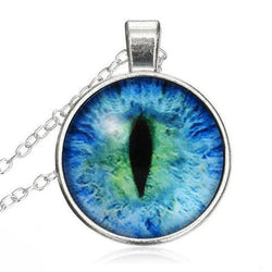 New! Cat Eye Necklace - 123dealss