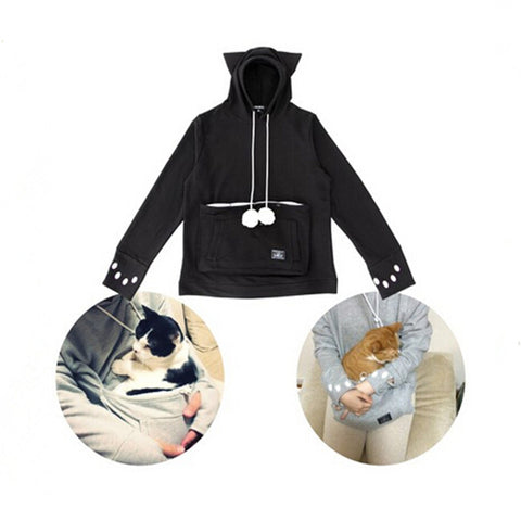 50% OFF CUTE CAT HOODIES WITH CUDDLE POUCH! - 123dealss