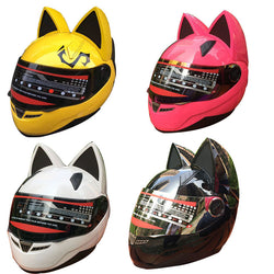 NEKOM CAT EARS BIKER HELMET