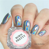 Holographic Rainbow Laser Nail Glitter Powder