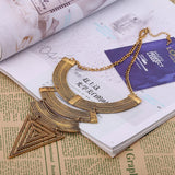 Ethnic Triangle Ancient Retro Layered Jewlery