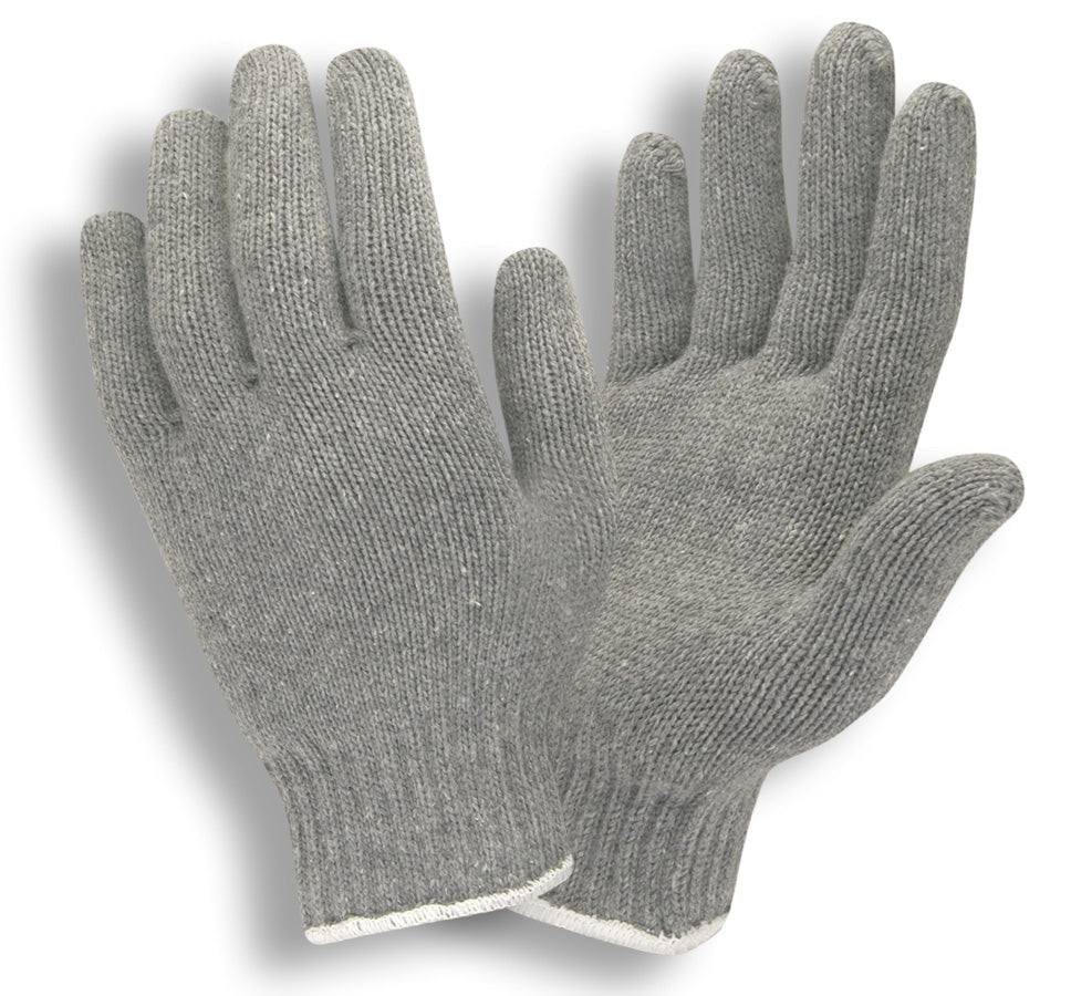 Gray Economy Weight 7-Gauge Gloves