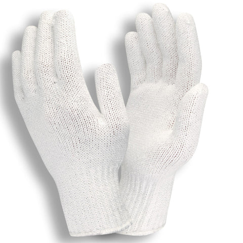 Bleached White Standard Weight 7-Gauge Gloves