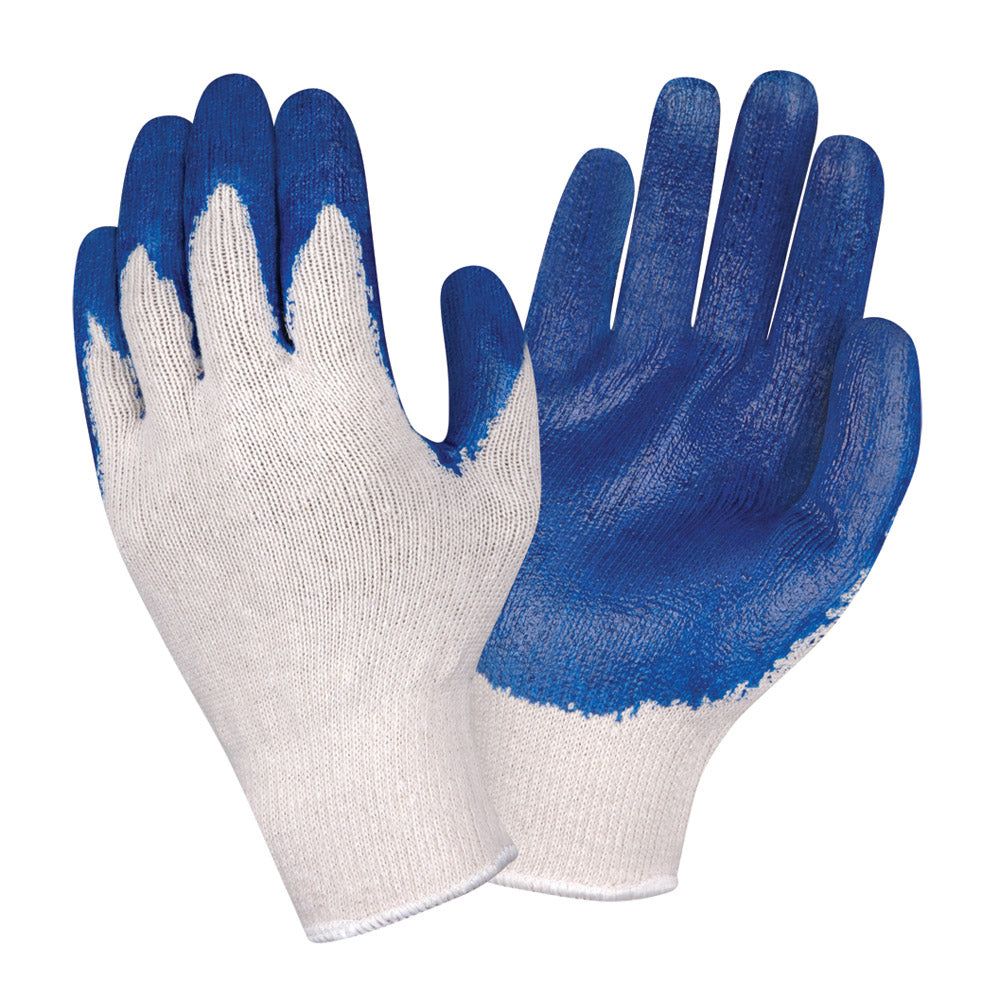 Smooth Latex Standard Blue Gloves