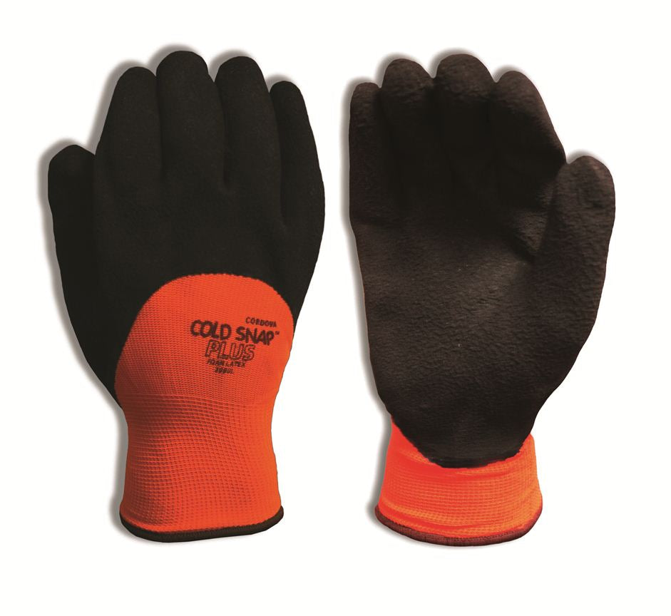Cold Snap Plus Black & Orange Gloves