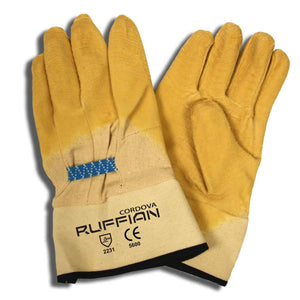 Premium Rubber Canvas Lining Gloves