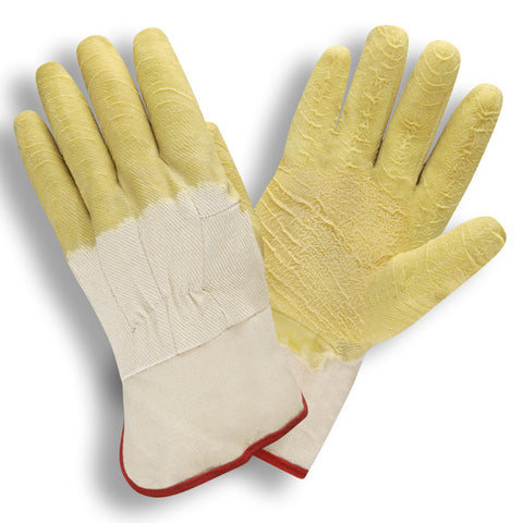 Economy Canvas Lining Yellow Gloves