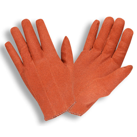 Vinyl Impregnated Stretch Russet Gloves