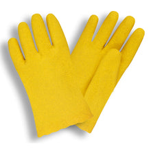 Load image into Gallery viewer, Vinyl Breathable Yellow Gloves