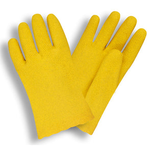 Vinyl Breathable Yellow Gloves