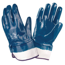 Load image into Gallery viewer, Brawler Premium Nitrile Smooth/ Safety Cuff Gloves