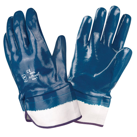 Brawler Premium Nitrile Smooth/ Safety Cuff Gloves