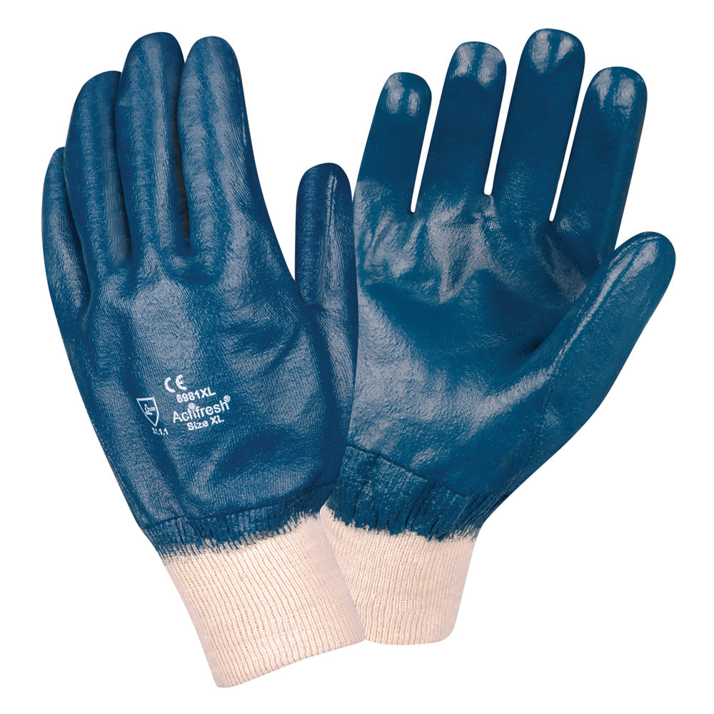 Brawler II Premium Nitrile Smooth/ Fully Coated Gloves