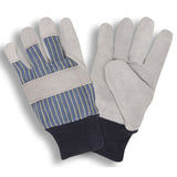 Select Shoulder Blue & Black Knit Wrist Gloves