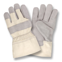 Load image into Gallery viewer, Shoulder Split Duck Cuff Gray Gloves