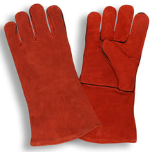 Load image into Gallery viewer, Select Welder Red Leather Gloves