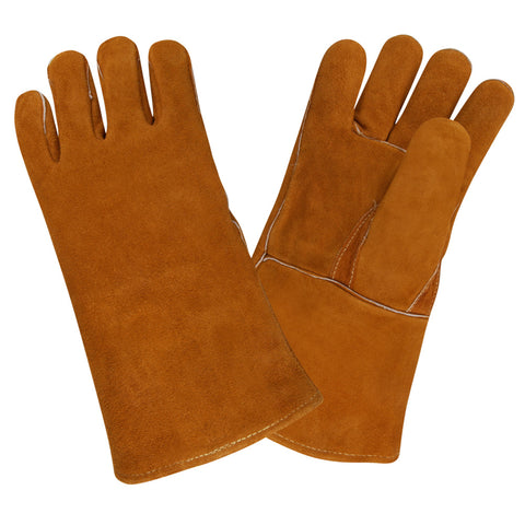 Shoulder Russet Leather Welder Gloves