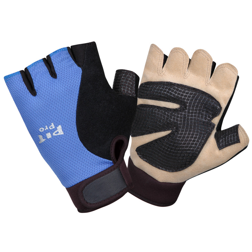 Pit Pro Tan Synthetic Leather Palm Gloves