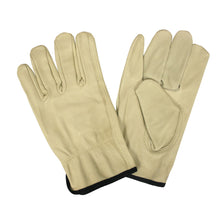 Load image into Gallery viewer, Standard Grain Cowhide Driver Gloves