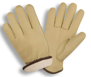 Premium Grain Cowhide Driver Gloves