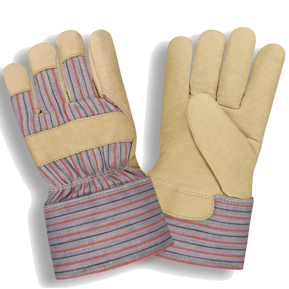 Grain Leather Pigskin Thinsulate Lining Gloves