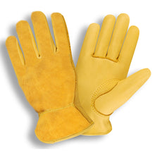 Load image into Gallery viewer, Select Grain Split Back Deerskin Driver Gloves