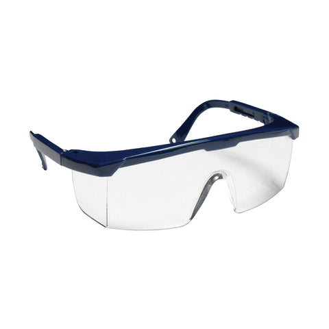 Retriever Clear Glasses Blue Nylon Frame
