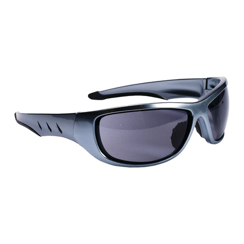 Aggressor Gray Safety Glasses