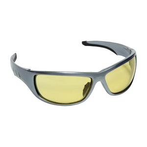 Aggressor Amber Safety Glasses