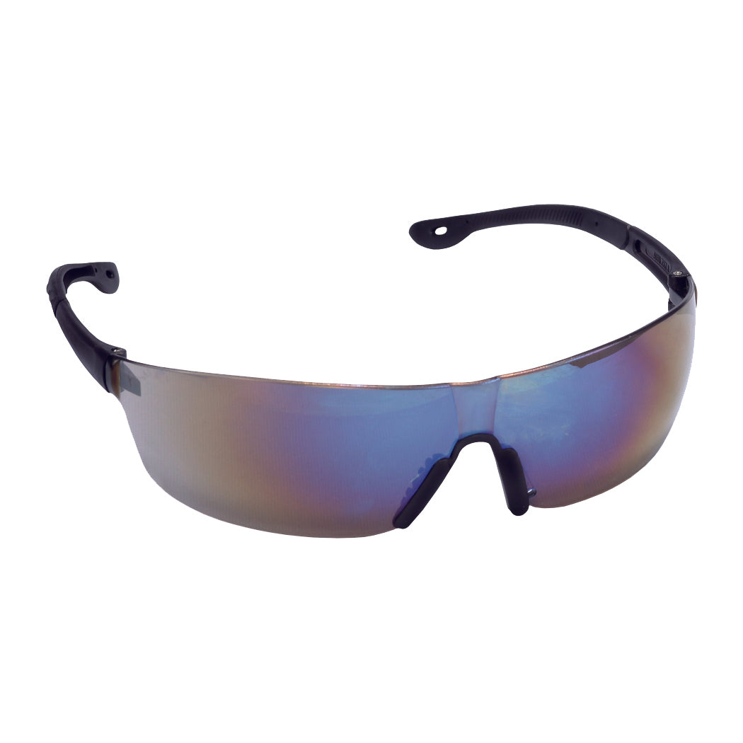 Jackal Blue Mirror Glasses