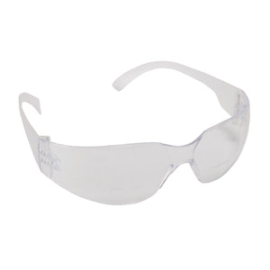 Bulldog Readers Clear Glasses